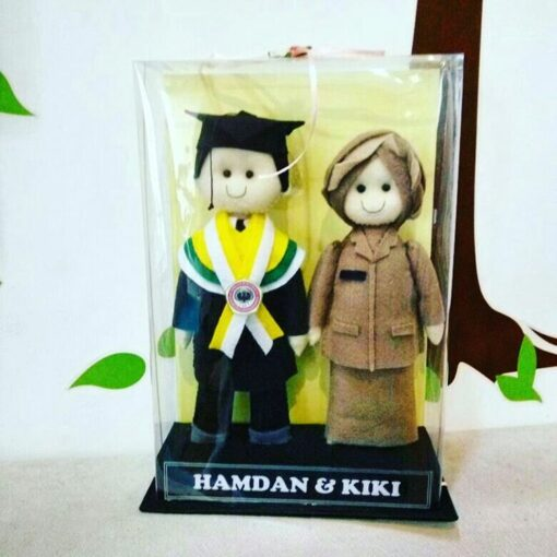 Boneka Couple Profesi Guru