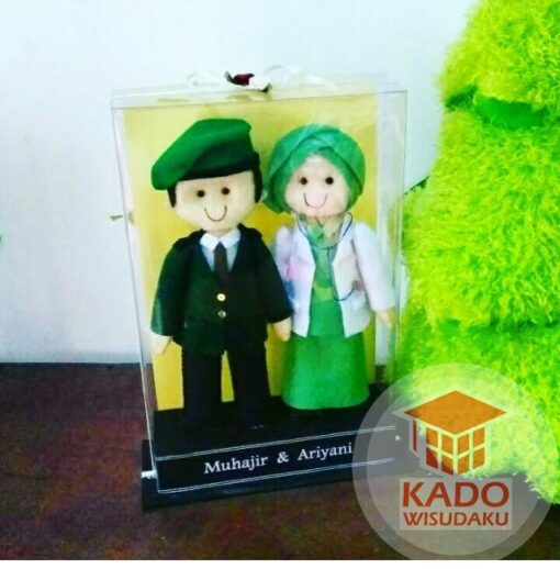 Boneka Couple Tentara